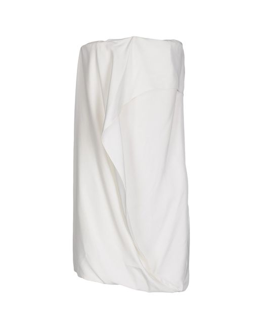 Maison Rabih Kayrouz | White Short Dress | Lyst