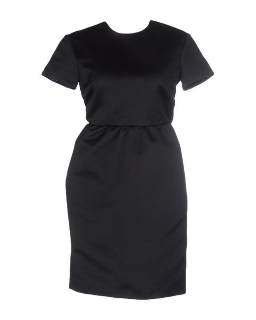 Rochas   Black Short Dress   Lyst