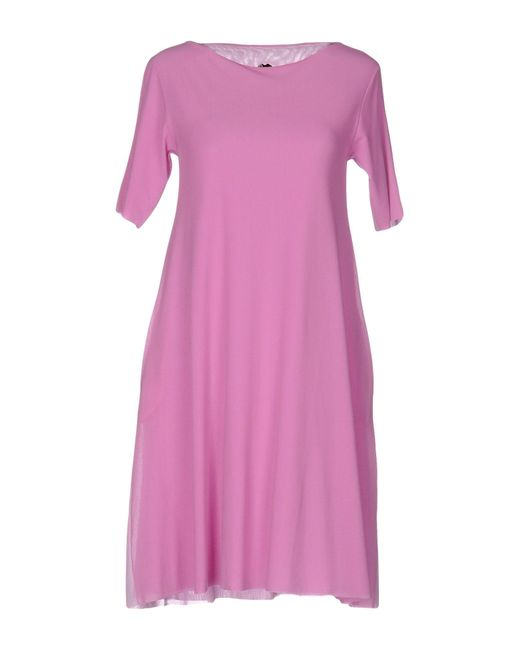 Almeria | Purple Short Dress | Lyst