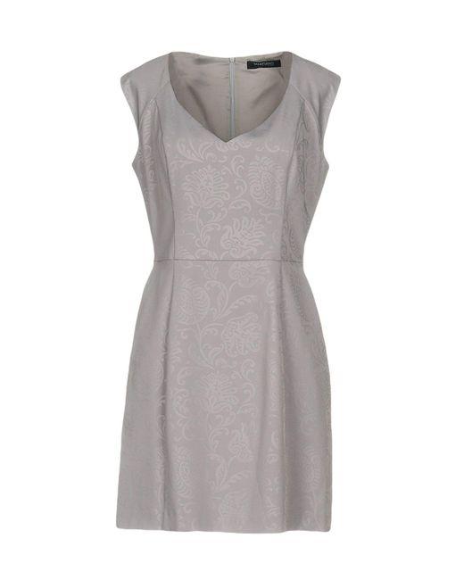 Guess | Purple Short Dress | Lyst