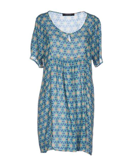 Fisico | Green Short Dress | Lyst
