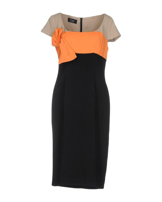 Clips | Multicolor Knee-length Dresses | Lyst