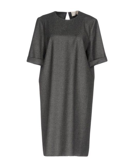 Maison Rabih Kayrouz | Gray Knee-length Dress | Lyst