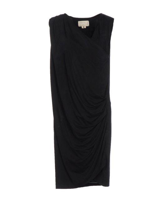 Nicole Miller Artelier   Black Knee-length Dress   Lyst