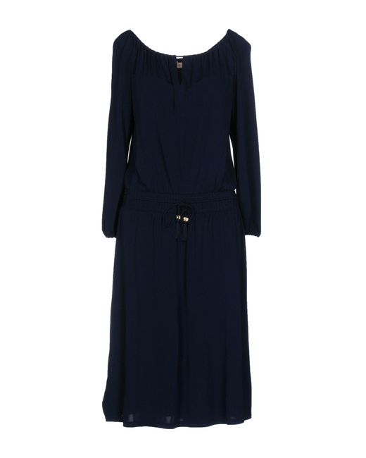 Tory Burch   Blue Knee-length Dress   Lyst