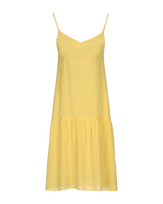 Twin Set | Yellow Knee-length Dress | Lyst
