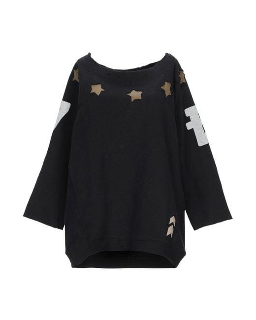Till.da Black Sweatshirt