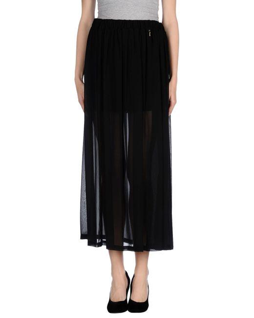 GAUDI | Black Long Skirt | Lyst