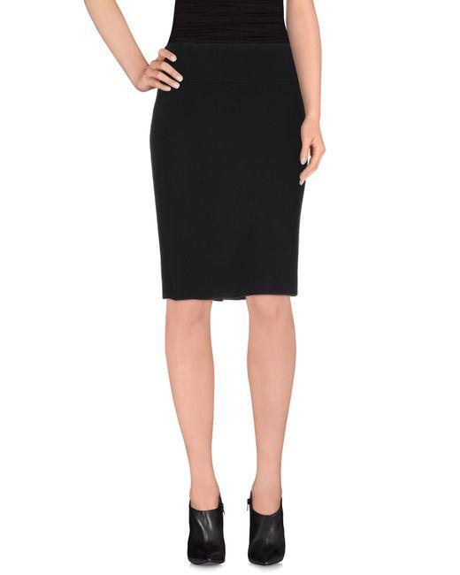 Peserico | Brown Knee Length Skirt | Lyst