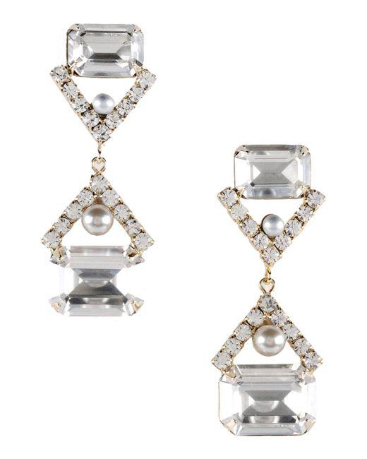 Elizabeth Cole   Metallic Earrings   Lyst