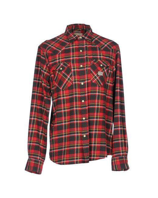 Denim & Supply Ralph Lauren - Red Shirts for Men - Lyst