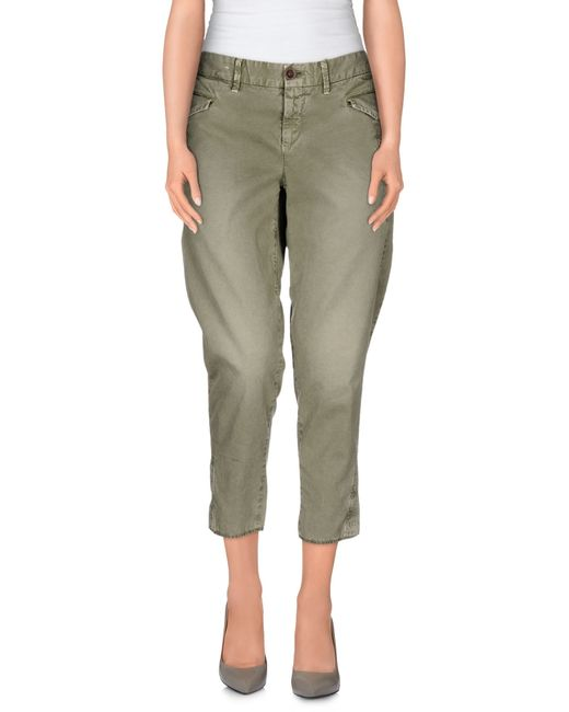 Incotex Red | Green 3/4-length Short | Lyst