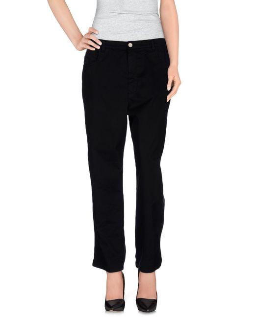 Jucca   Black Casual Pants   Lyst