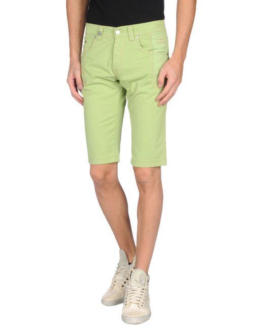 Nicwave | Green Bermuda Shorts for Men | Lyst
