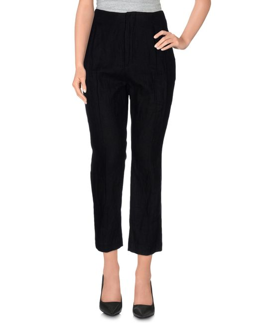 Dondup | Black Casual Trouser | Lyst