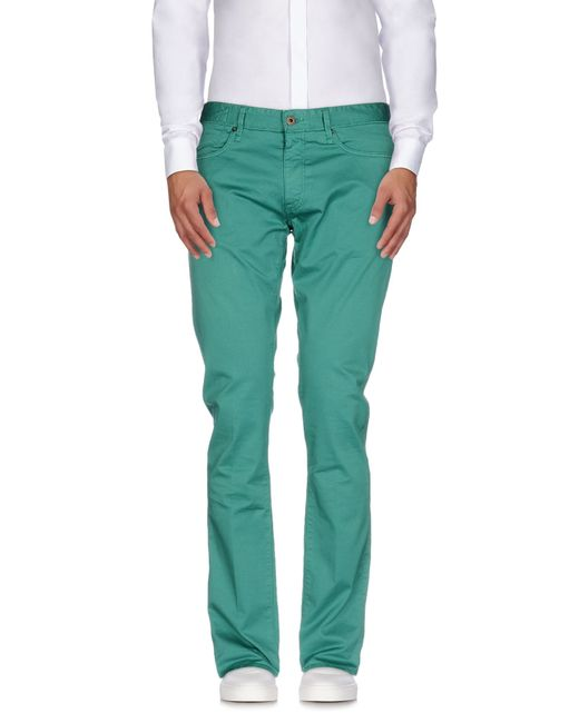 Incotex   Green Casual Pants for Men   Lyst