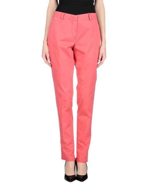 Boglioli | Pink Casual Pants | Lyst