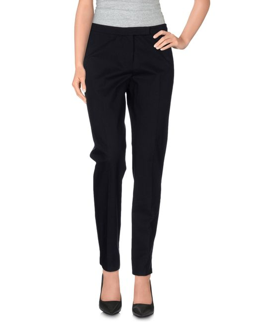 Peserico | Black Casual Pants | Lyst