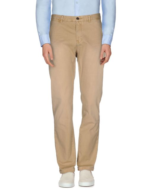 Scotch & Soda | Natural Casual Trouser for Men | Lyst