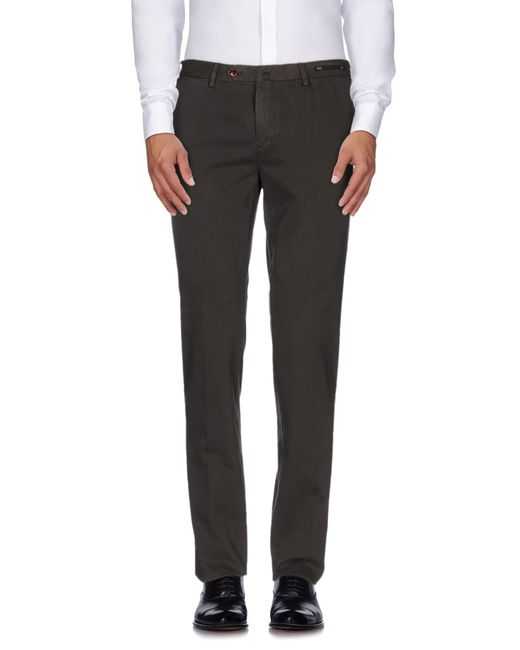 PT01 | Black Casual Pants for Men | Lyst