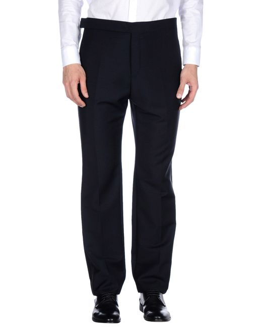 Balenciaga | Black Casual Pants for Men | Lyst