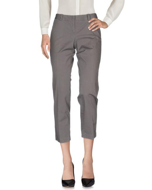 Alberto Biani | Gray Casual Trouser | Lyst