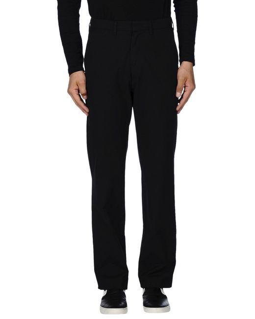 Trussardi   Black Casual Pants for Men   Lyst