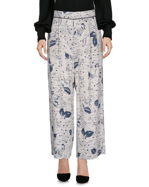 Suoli | Gray Casual Pants | Lyst