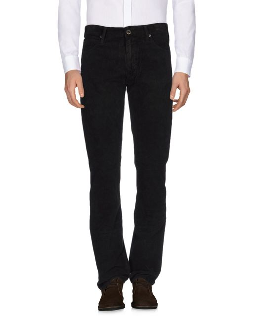 Armani Jeans | Blue Casual Trouser for Men | Lyst