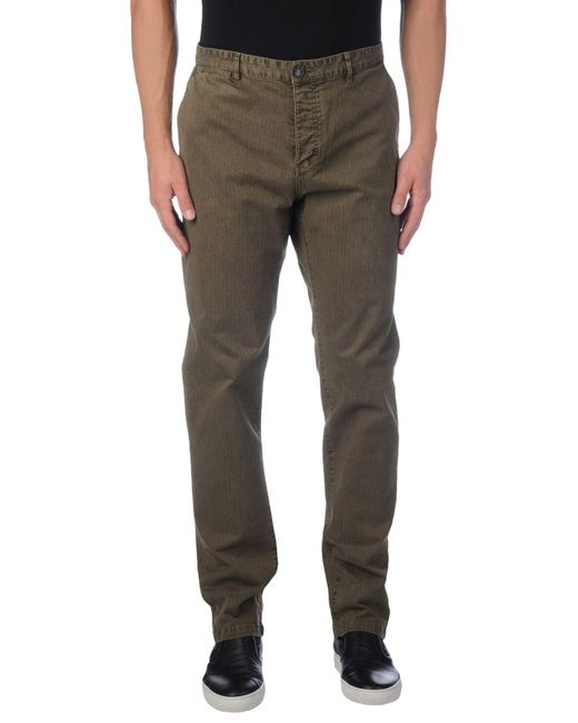 Fred Mello | Green Casual Trouser for Men | Lyst