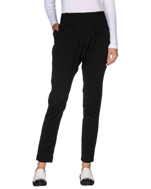 Shi 4 | Black Casual Pants | Lyst