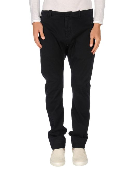 Armani | Blue Casual Pants for Men | Lyst