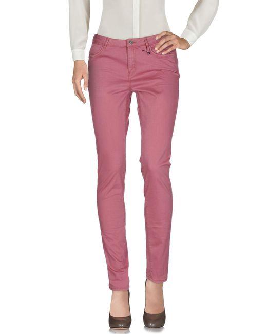 Maison Scotch   Pink Casual Pants   Lyst