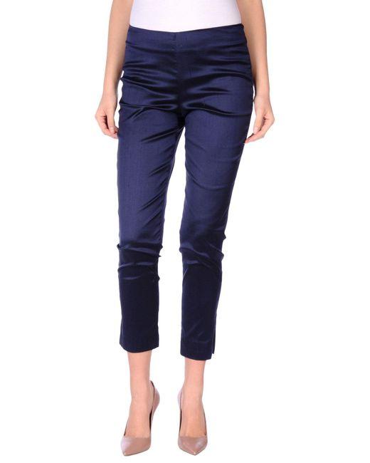 Pt0w | Blue Casual Trouser | Lyst