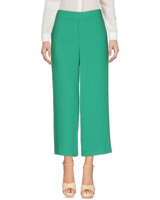 P.A.R.O.S.H. | Green Casual Pants | Lyst
