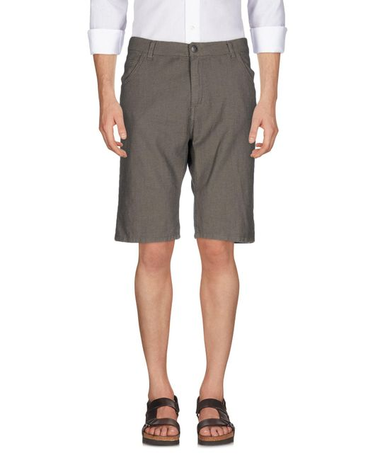 Imperial | Gray Bermuda Shorts for Men | Lyst