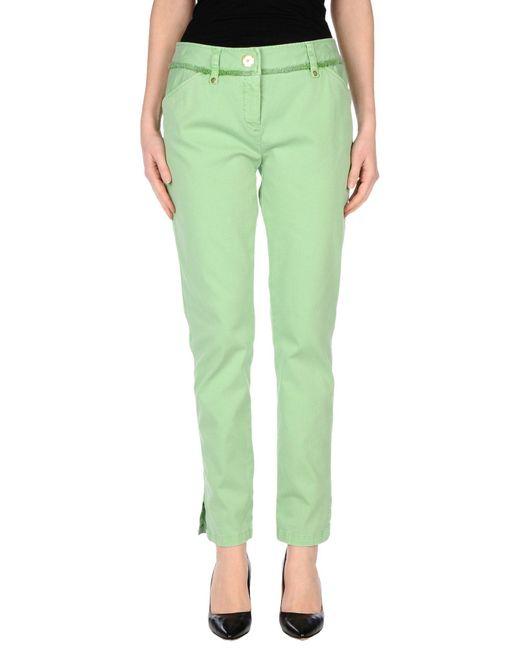 Roberta Scarpa | Green Casual Pants | Lyst