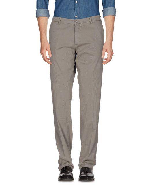 40weft | Gray Casual Trouser for Men | Lyst