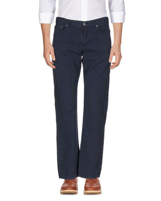 Gant | Blue Casual Pants for Men | Lyst