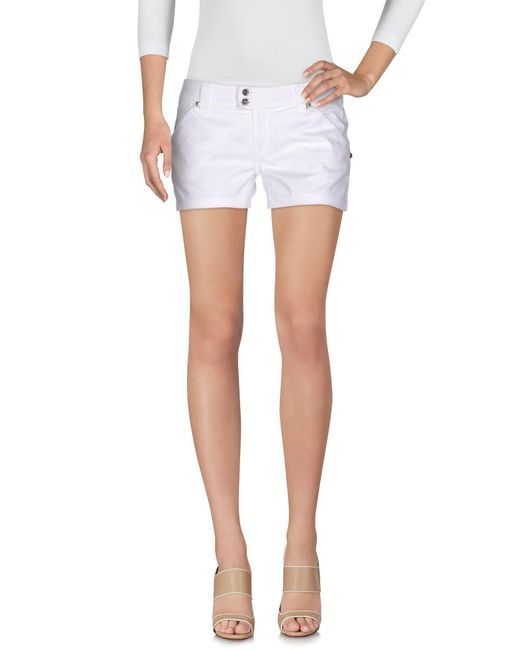 Met | White Shorts | Lyst