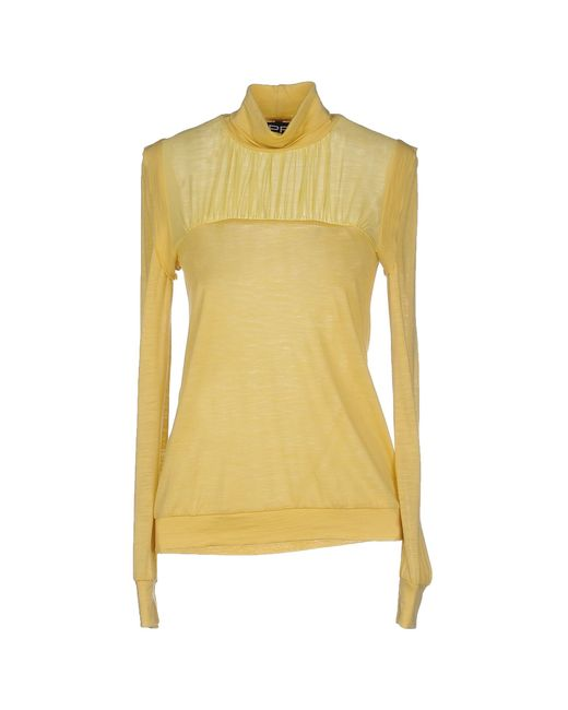 Pf Paola Frani | Yellow Turtleneck | Lyst