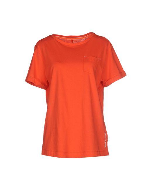 Helly Hansen | Red T-shirt for Men | Lyst