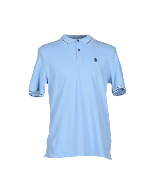 Marina Yachting | Blue Polo Shirt for Men | Lyst