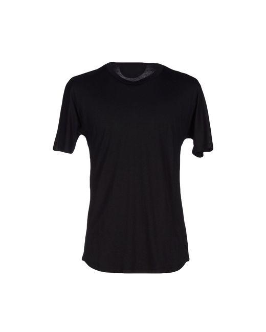 Helmut lang t shirt in black for men lyst for Helmut lang tee shirts