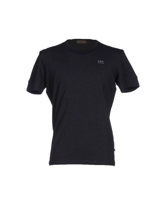 CoSTUME NATIONAL | Black T-shirt for Men | Lyst