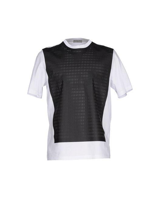 balenciaga t shirt in white for men lyst