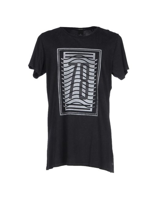 Scotch & Soda | Black T-shirt for Men | Lyst