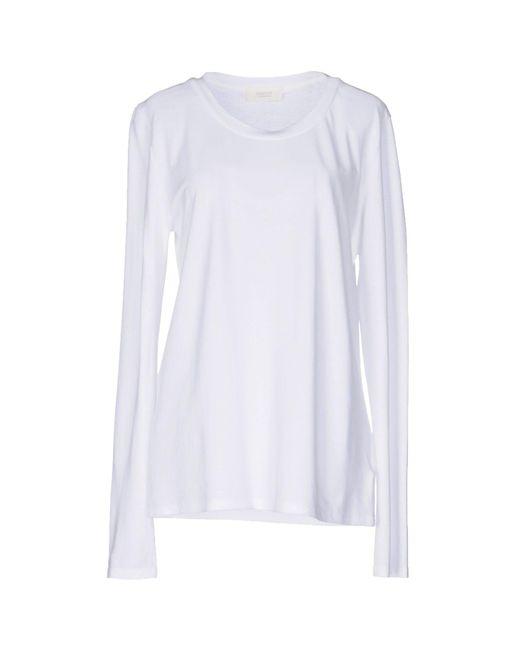 Zanone | White T-shirt | Lyst