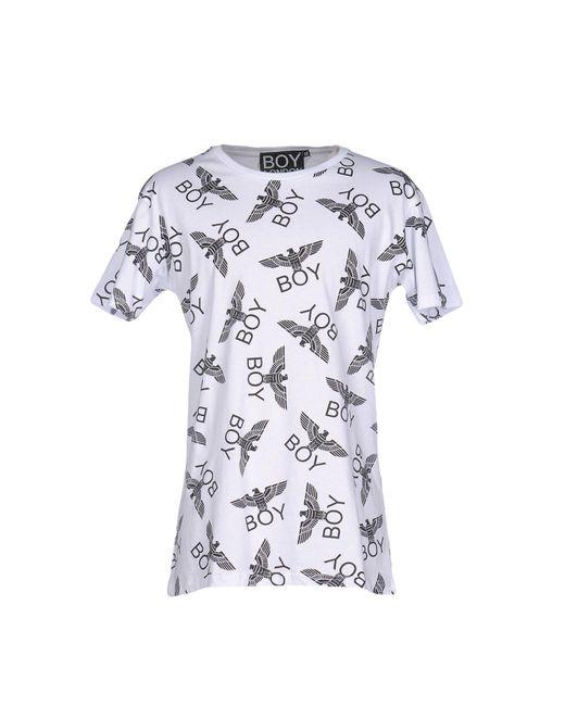 BOY London | White T-shirt for Men | Lyst