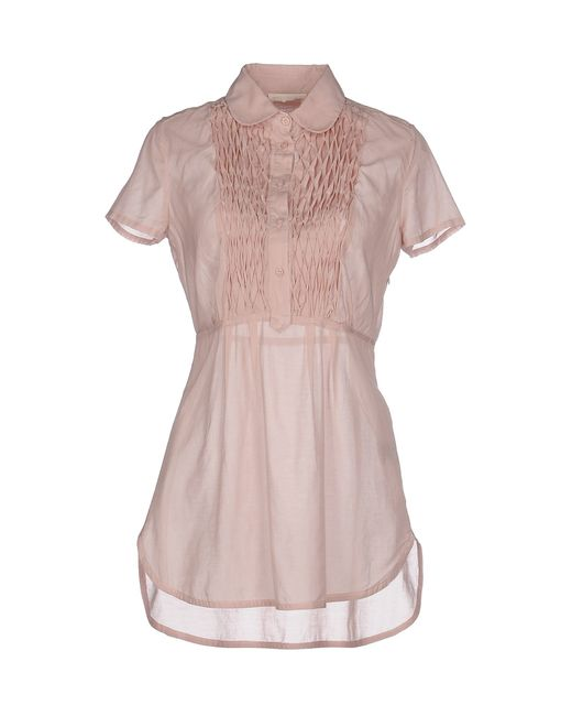 Ermanno Scervino | Pink Blouse | Lyst